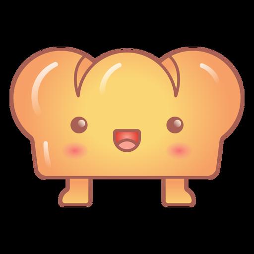 Happy bread kawaii