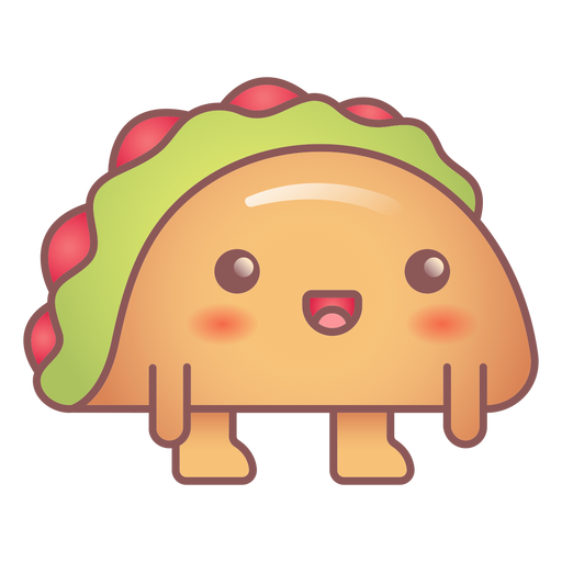 Happy taco kawaii