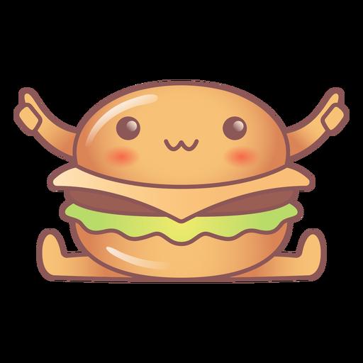 Happy burger kawaii