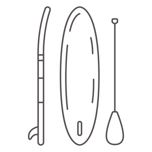 Paddleboarding-Mono-Line-Stroke - 3