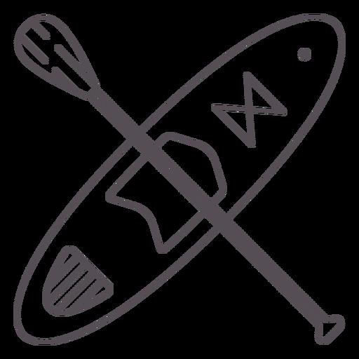 Paddleboarding-Mono-Line-Stroke - 5