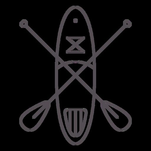 Paddleboarding-Mono-Line-Stroke - 7