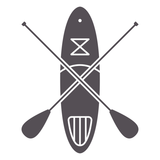 Paddleboarding-Mono-Line-Vinilo - 0