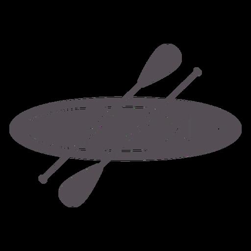 Paddleboarding-Mono-Line-Vinilo - 1