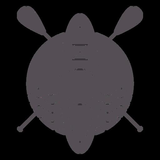 Paddleboarding-Mono-Line-Vinilo - 5