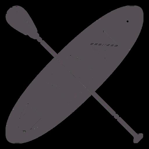 Paddleboarding-Mono-Line-Vinilo - 7