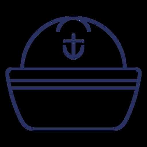 Ship's captain hat stroke