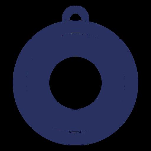 Simple lifesaver cut out element