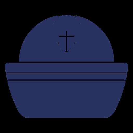 Sailor hat cut out element