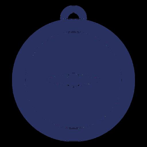 Simple compass cut out element