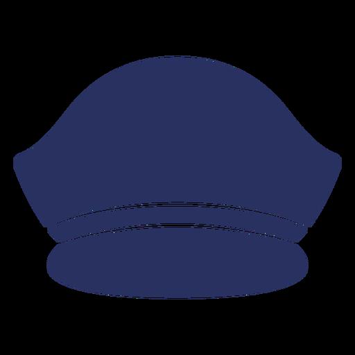 Captain hat cut out element