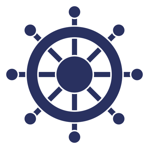 Simple ship steering wheel cut out