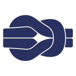 Simple sailing knot cut out element