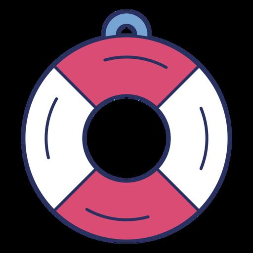 Simple lifesaver color stroke element
