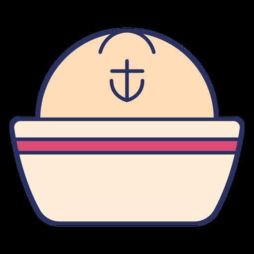 Sailor hat color stroke element