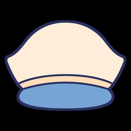 Captain hat color stroke element