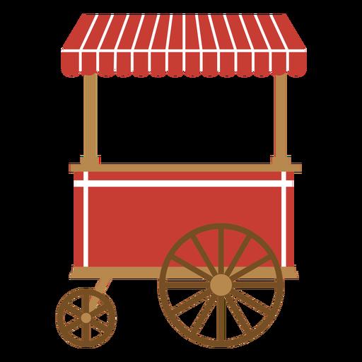 Carnival cart flat