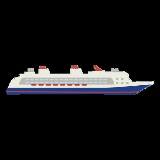Cruise ship flat
