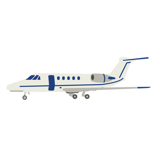 Commercial plane flat