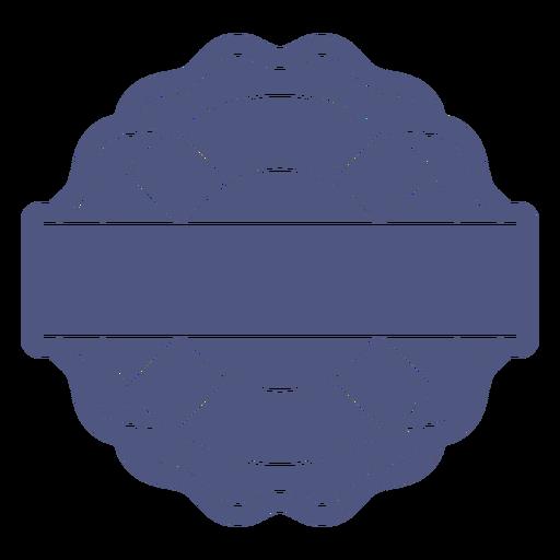 Lifesaver fillable badge cut out