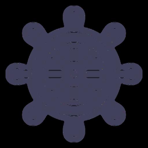 Sailship rudder cut out