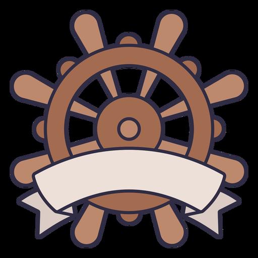 Ship rudder label color stroke
