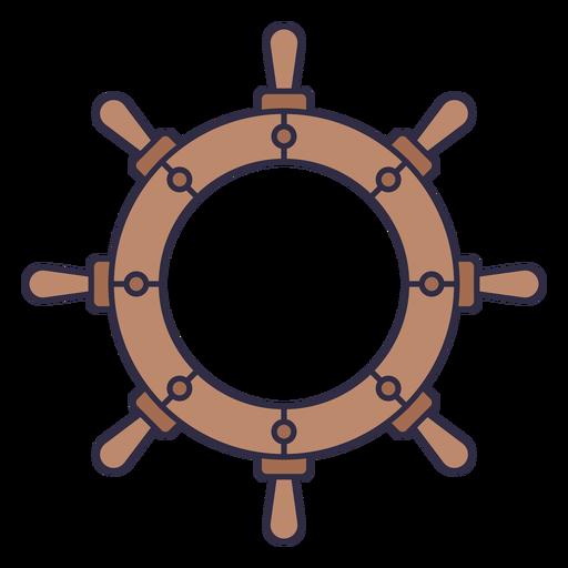 Ships nautical wheel