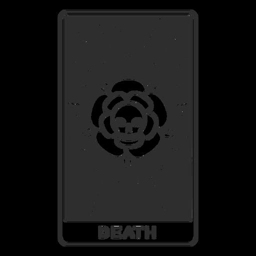 Tarot card death stroke