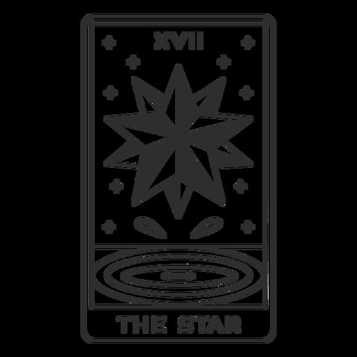 Tarot-Karten-Strich-Vinyl - 18