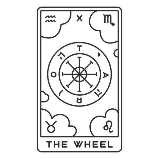Tarot-Karten-Strich-Vinyl - 19