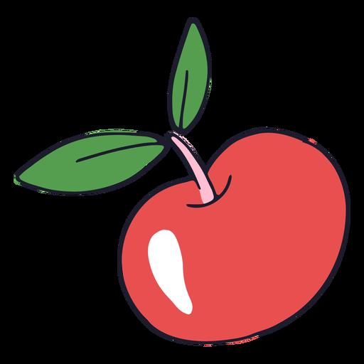 Shiny apple color stroke