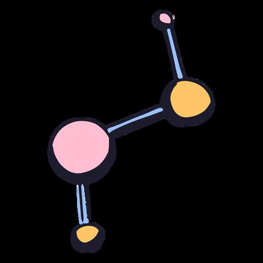 Molecule color stroke