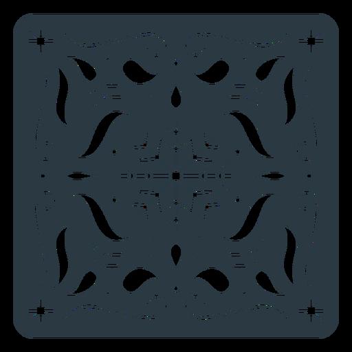 Snowflake papel picado