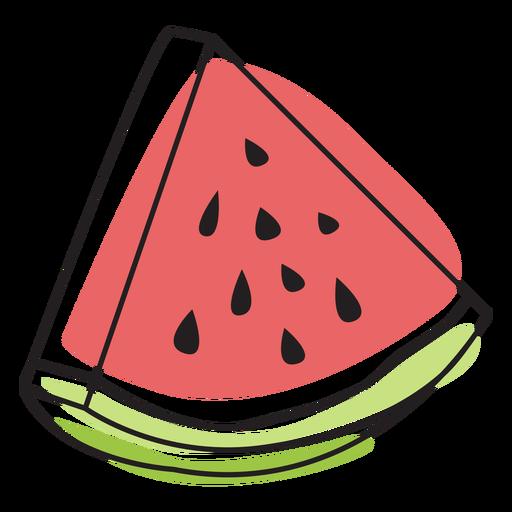 Watermelon color stroke