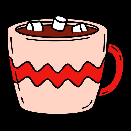 Hot cocoa color stroke