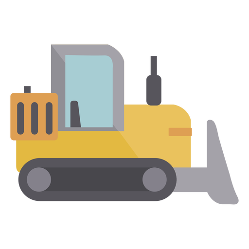 Simple loader machine semi flat