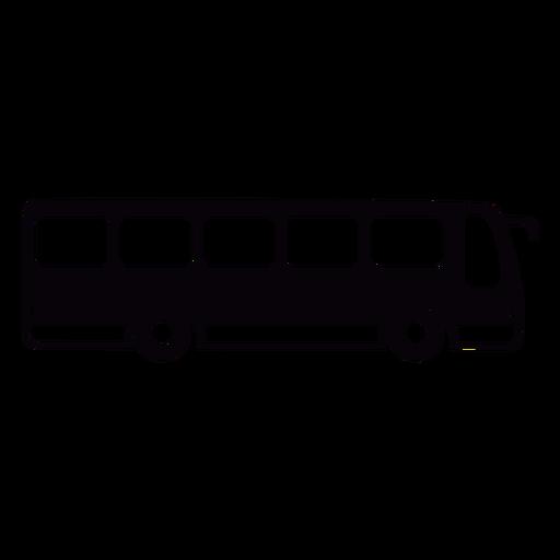 Black bus cut out