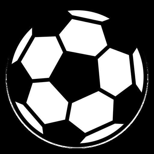 Soccer ball flat design