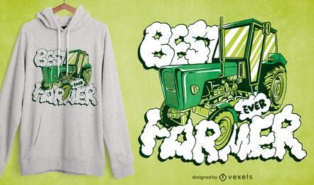 Best farmer ever t-shirt design