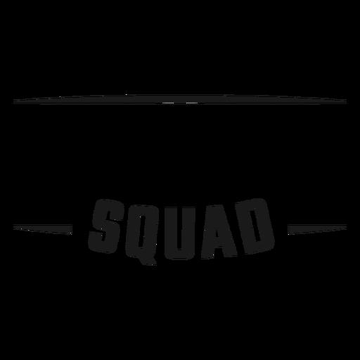 Squad quote stroke