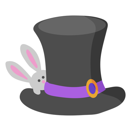 Magic hat with bunny