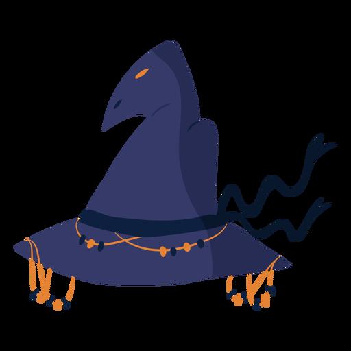 Witch hat semi flat