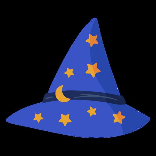 Wizard hat semi flat