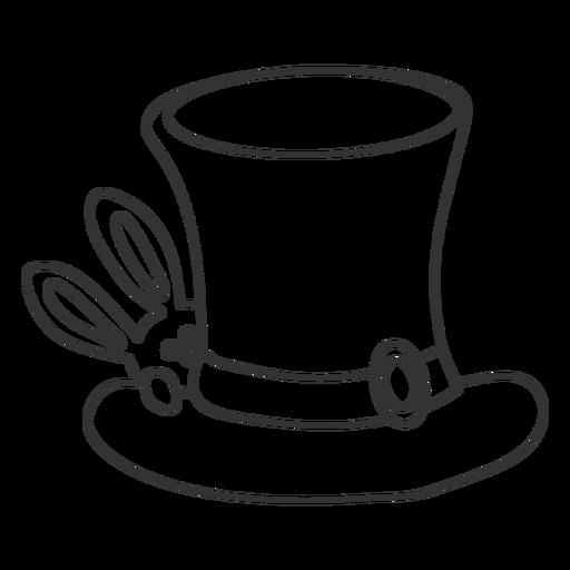 Magician hat stroke