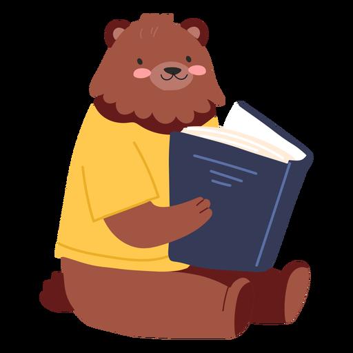Lindo oso de lectura