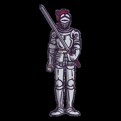 Knight's armor color stroke