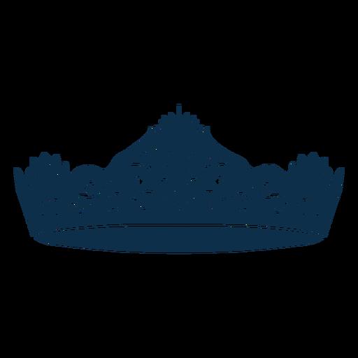 Prince crown swirls cut out