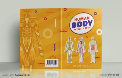 Human anatomy book cover design