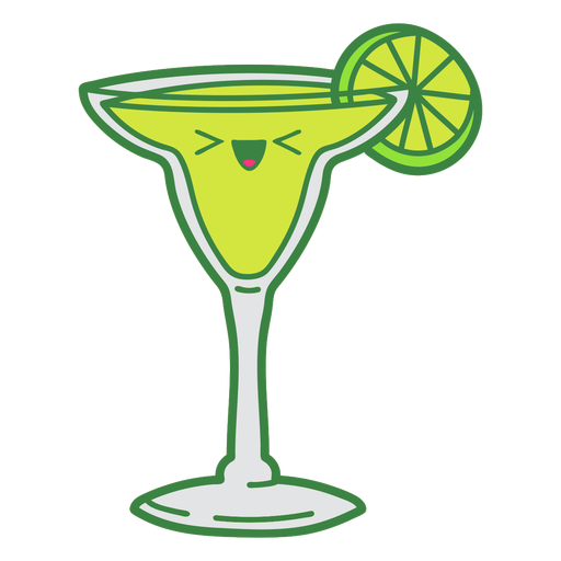 Margarita drink cute