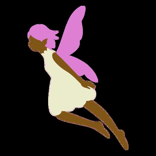 Purple fairy flat
